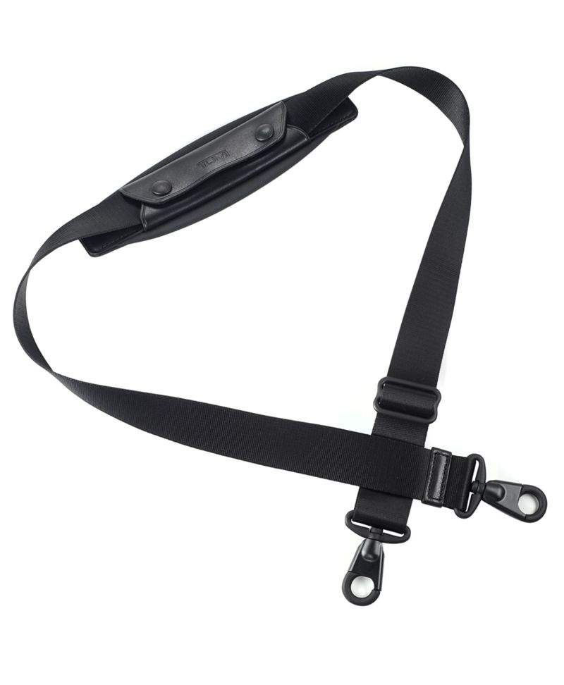 1 1/2 Shoulder Strap with Black Hardware