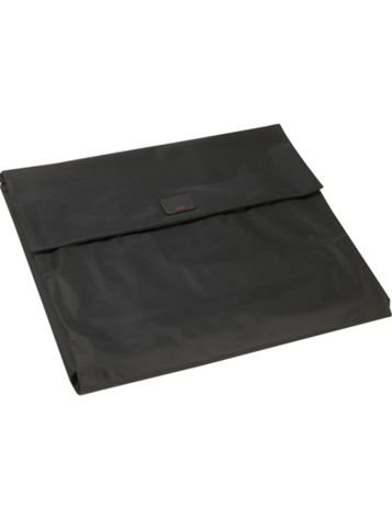 Medium Flat Folding Pack in Black Side View