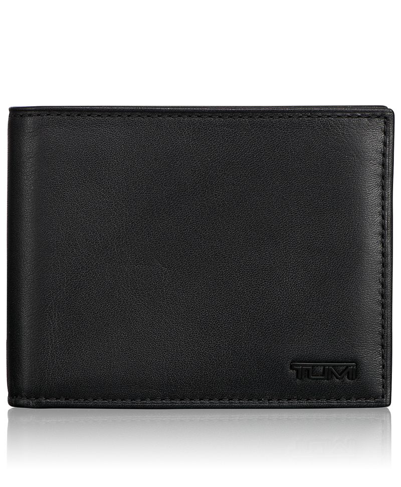 Global Double Billfold with Snap