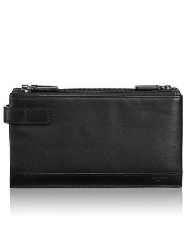 Triple Zip Clutch