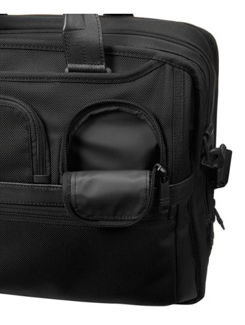 Expandable Organizer Laptop Brief Side View