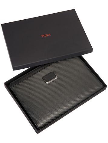 Carbon Fiber Sebring Tablet Cover in Carbon Side View