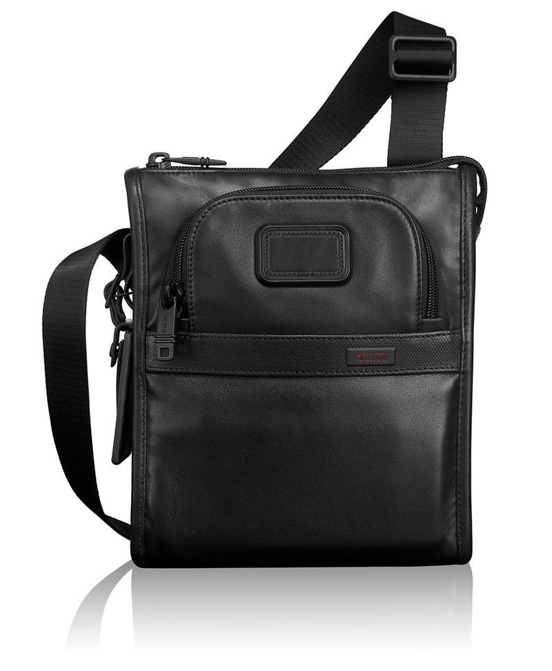 Leather Pocket Bag Small