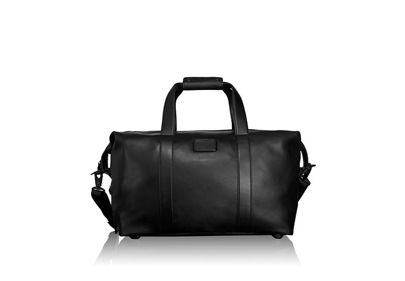 Small Soft Leather Travel Satchel