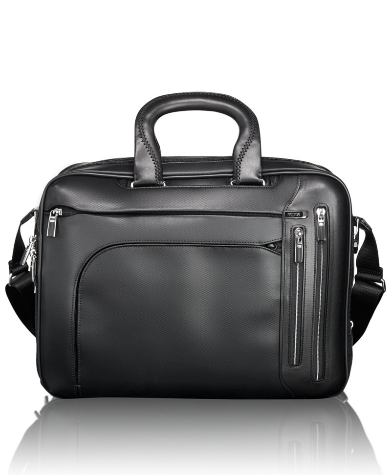 Tumi T-Pass® Kennedy Deluxe Leather Brief