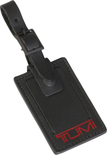 Luggage Tag - Medium in Black