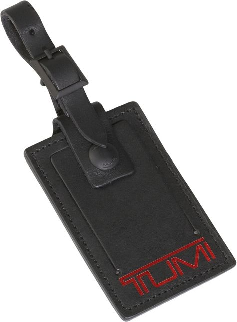 Luggage Tag - Large in Black