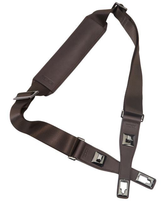 Removable Shoulder Strap in Dark Brown