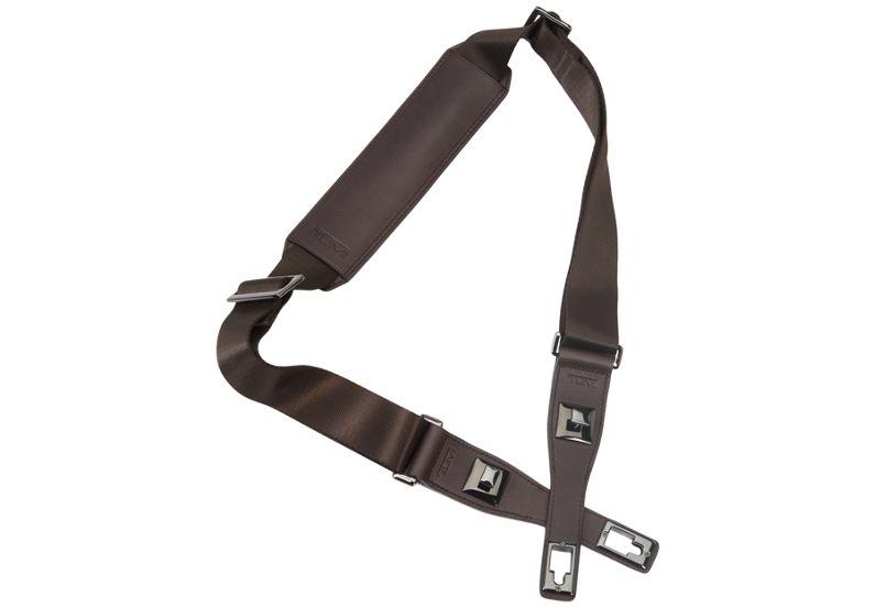 Removable Shoulder Strap in Dark Brown