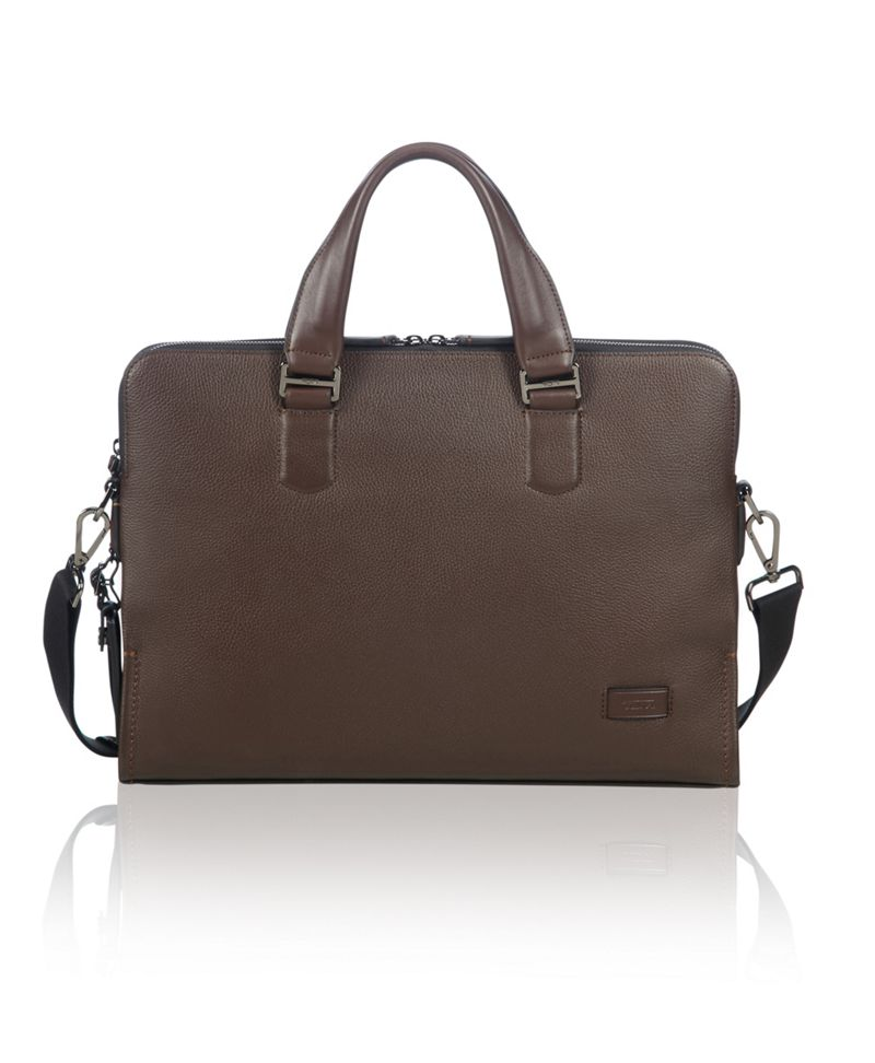 Seneca Slim Brief Leather