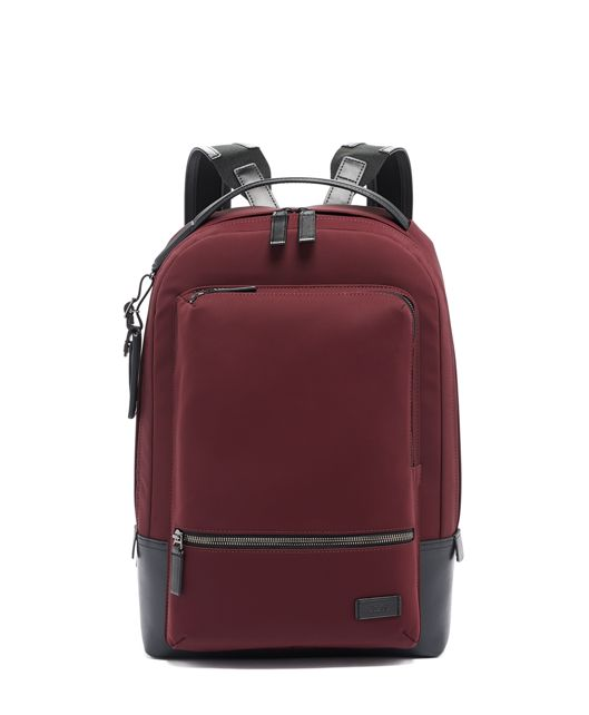 Bates Backpack in Plum