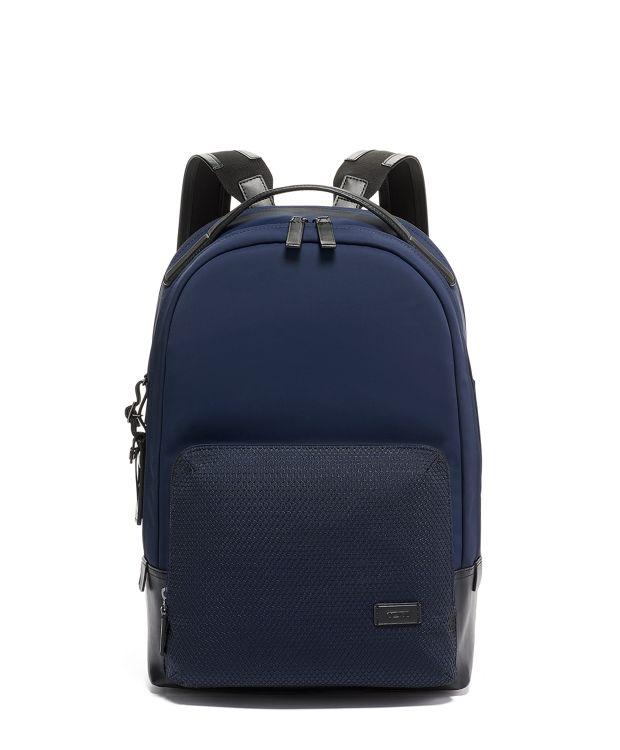 Webster Backpack in Navy Mesh