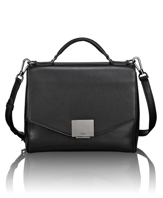 Thalia Satchel in Black