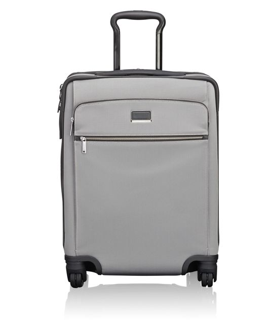 Alex Continental Expandable 4 Wheeled Carry-On in Light Grey