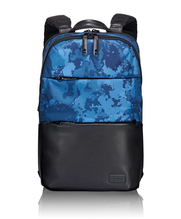 Elwood Backpack in Deep Ocean Print
