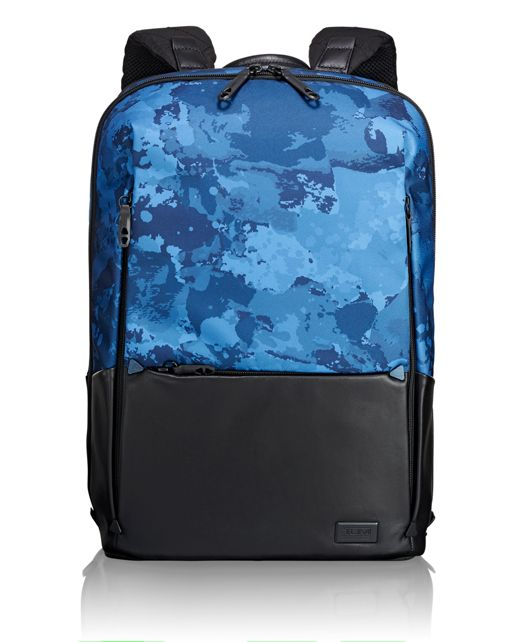 Butler Backpack in Deep Ocean Print