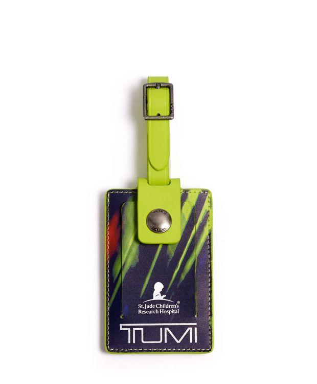 Luggage Tag in Luminous Green