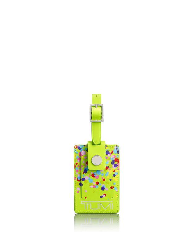 Luggage Tag in Confetti