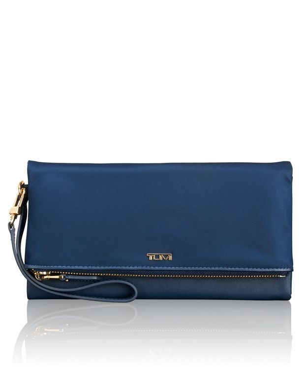 Travel Wallet in Ocean Blue