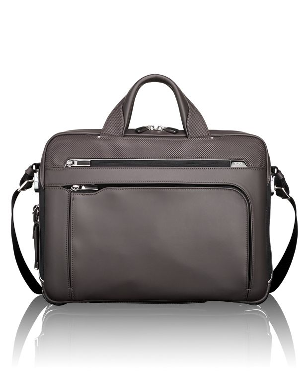 Sawyer Brief Leather in Taupe