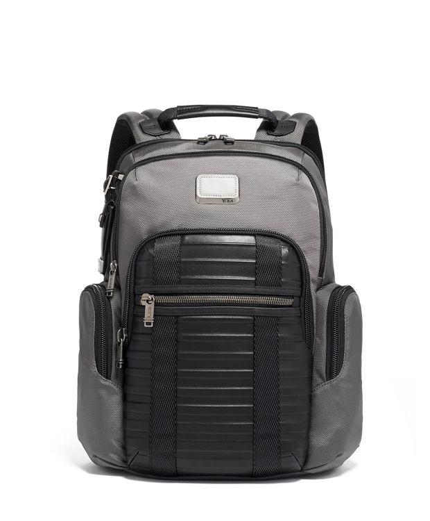 Nellis Backpack in Grey/Embossed