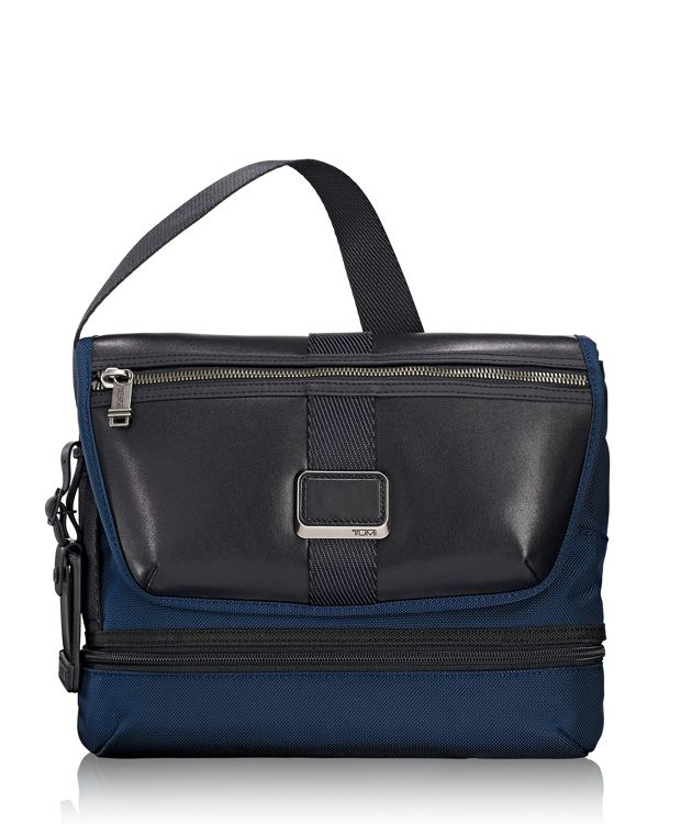 Travis Crossbody in Navy