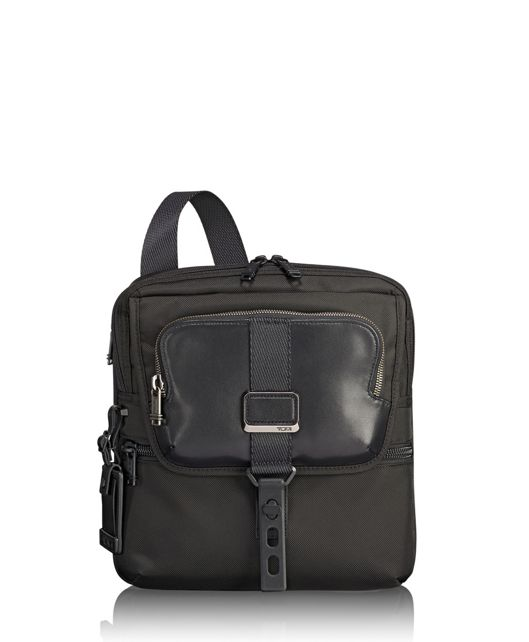 Arnold Zip Flap in Black