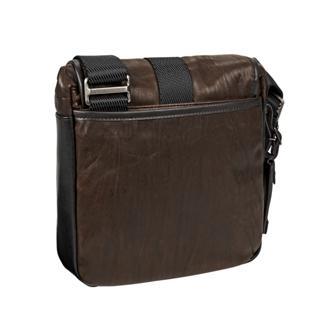 3b4bffc6ae ... Barton Crossbody Leather in Dark Brown ...