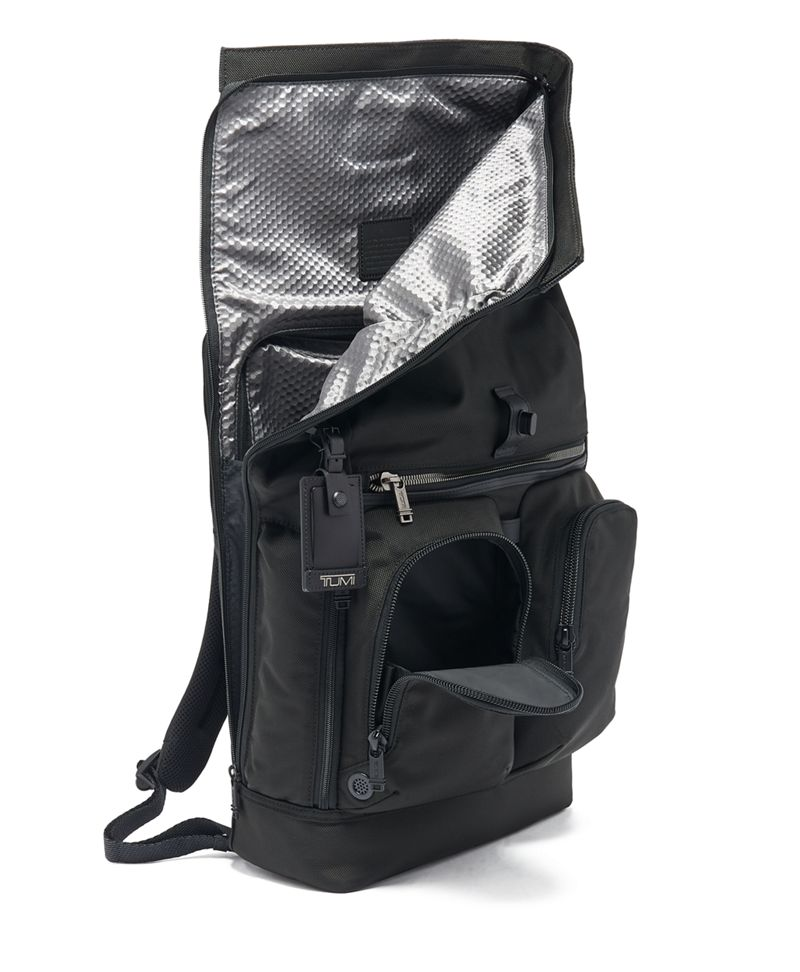 London Roll Top Backpack