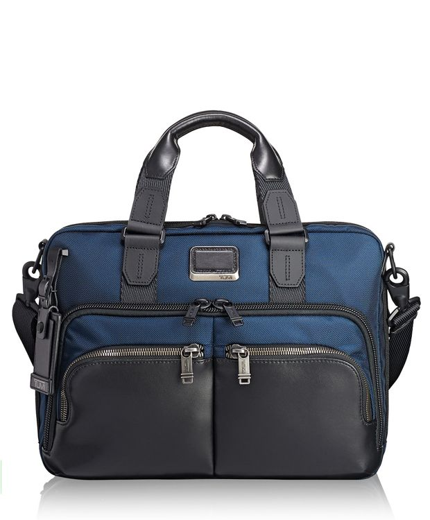 Albany Slim Commuter Brief in Navy