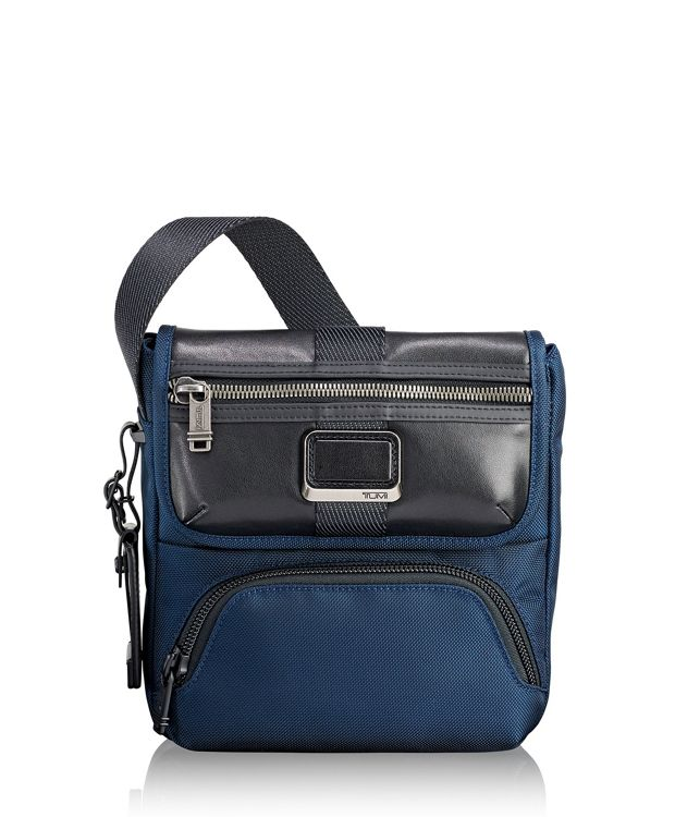 Barton Crossbody in Navy