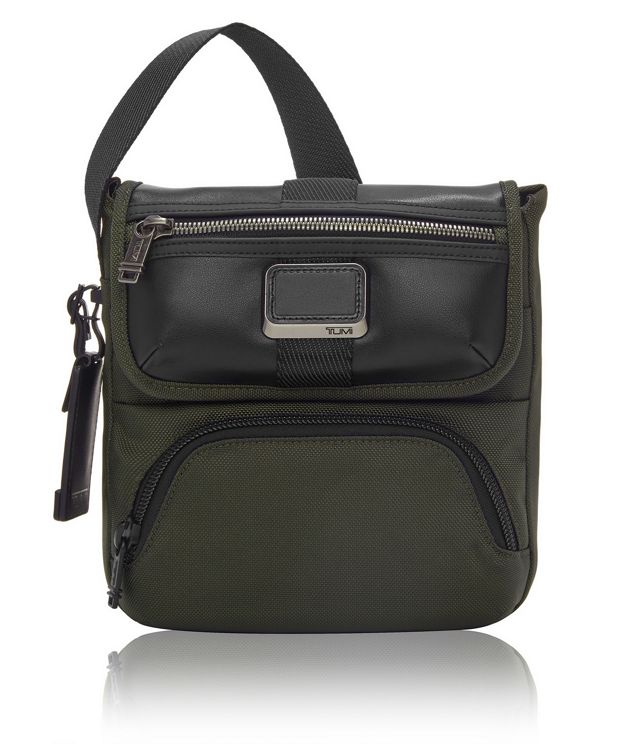 Barton Crossbody in Algae