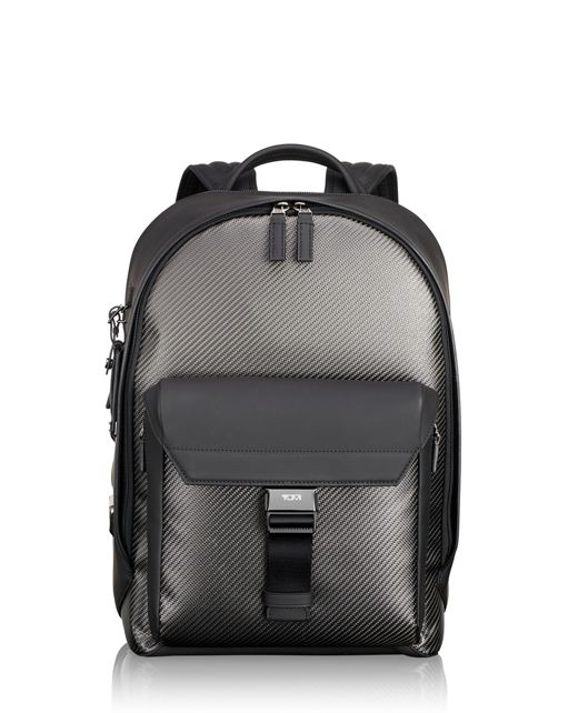 Carbon Fiber Morley Backpack in Carbon