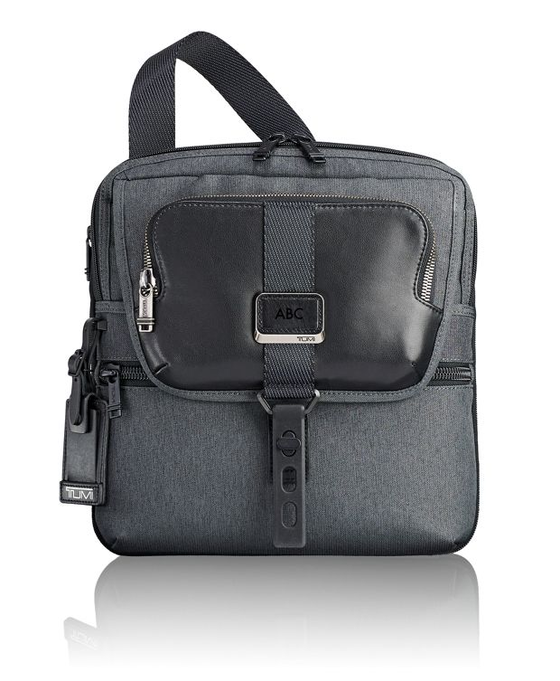 Arnold Zip Flap in Anthracite