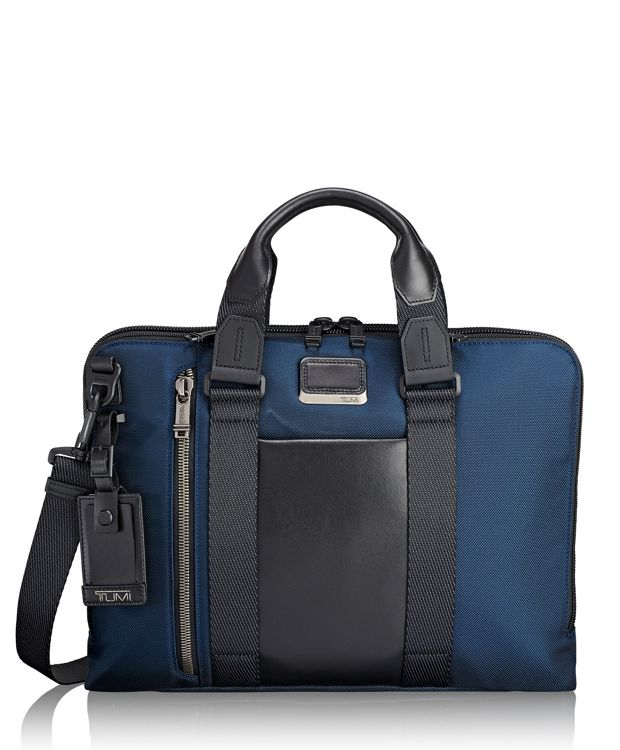 Aviano Slim Brief in Navy