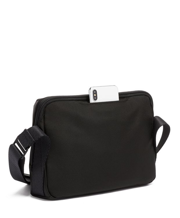 Black Lewis Crossbody