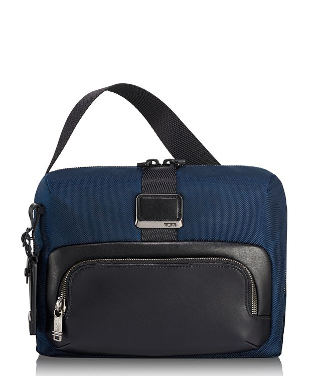 Lewis Crossbody in Navy