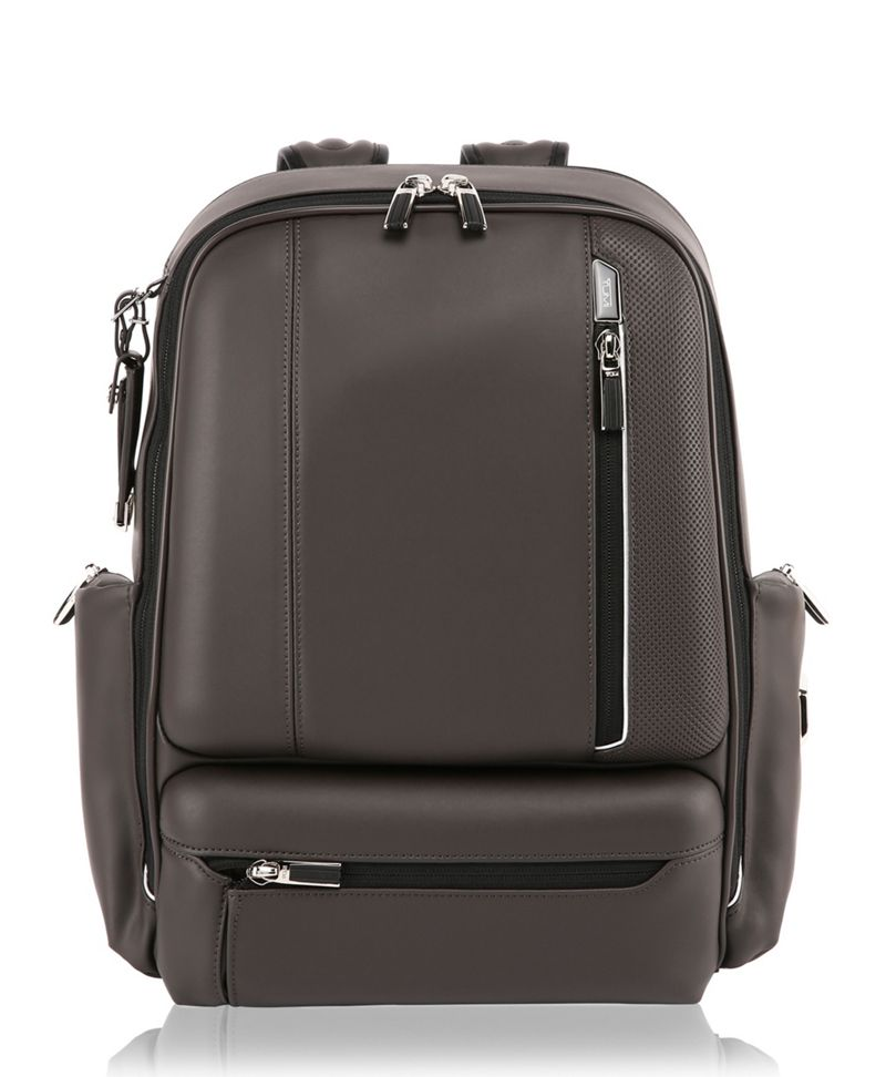 Grantley Leather Backpack