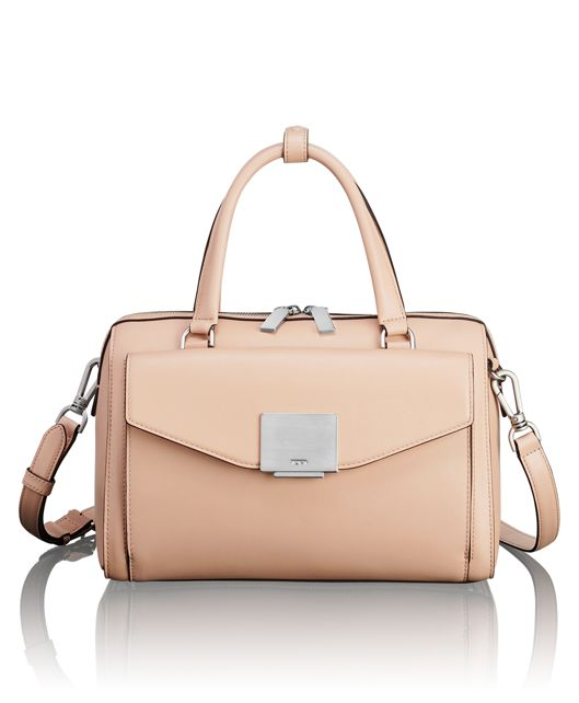 Aria Satchel in Blush