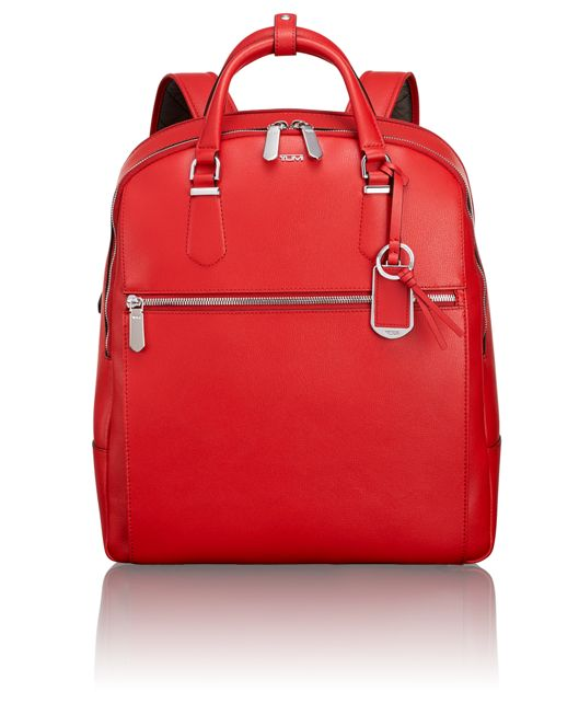 Orion Backpack in Hot Red