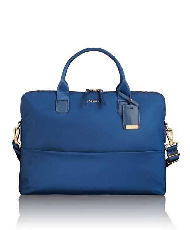Tina Laptop Carrier in Ocean Blue