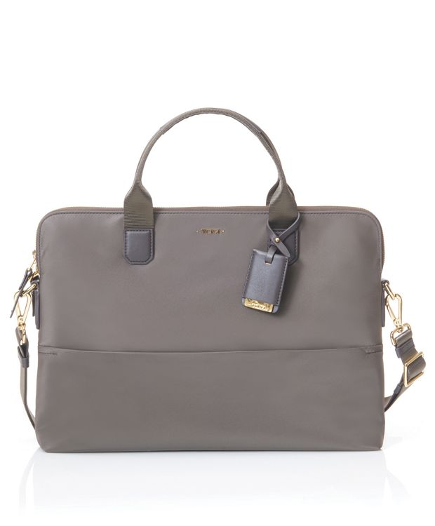 Tina Laptop Carrier in Mink