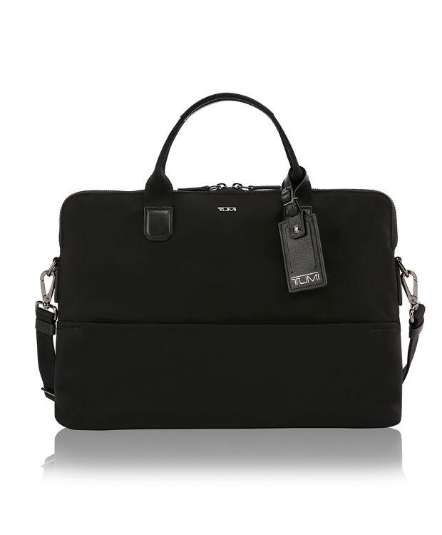 Tina Laptop Carrier in Black/Gunmetal