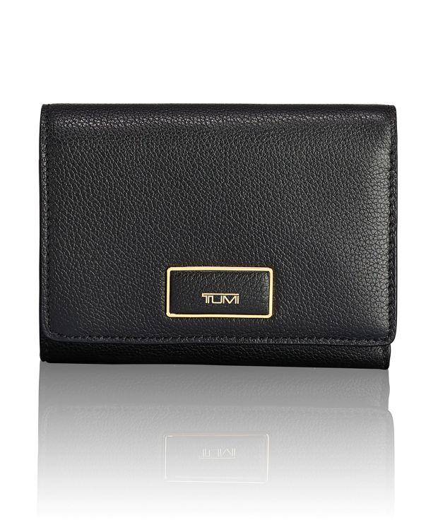 Tri-Fold Wallet in Black