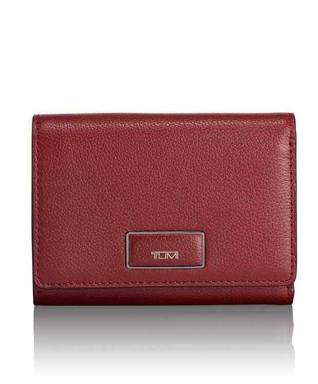 Tri-Fold Wallet in Brick