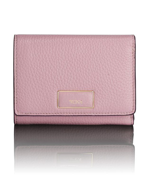 Tri-Fold Wallet in Pink