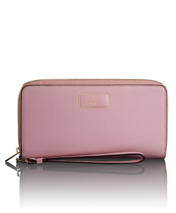 Travel Wallet in Pink