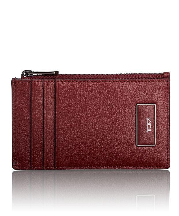 Slim Card Case in Brick