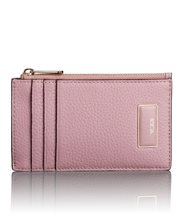 Slim Card Case in Pink
