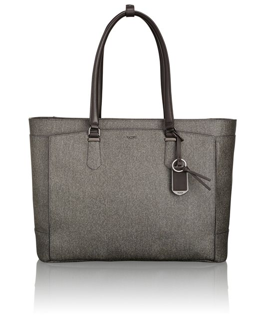 Venus Business Tote in Earl Grey